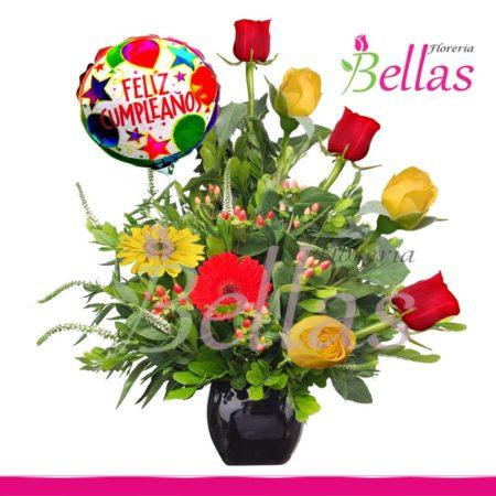 Arreglos Florales Para Cumpleaños 𝐅𝐥𝐨𝐫𝐞𝐬