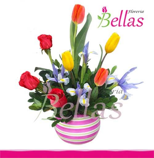 Rosas Y Tulipanes Delivery En Lima Cu 07